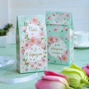 """Чай для подарочных наборов """"З 8 березня!"""""""