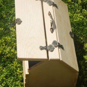 Коробка сундук из дерева 200ш х190в х400дл.