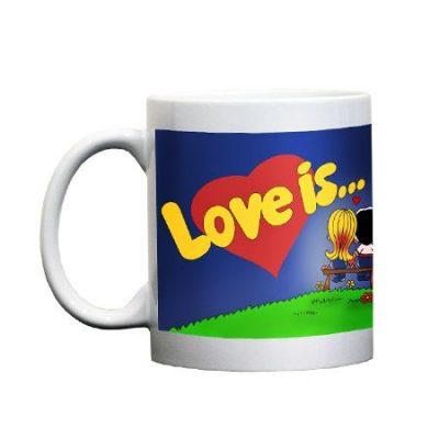 Чашка для подарочного набора LOVE IS...