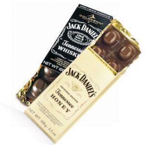 Шоколад для подарочного набра jack daniel's