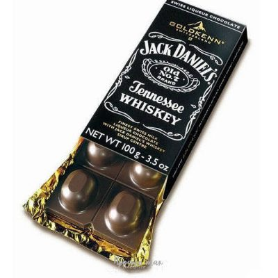 Шоколад для подарочного набра jack-daniels