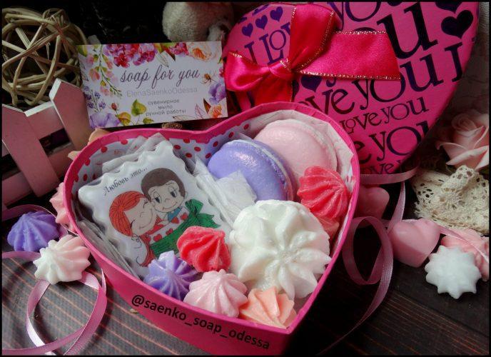 """Подарочное мыло набор """"Love is..."""""""