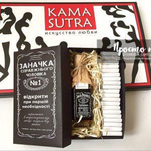 Набор с виски и шоколадом KAMASUTRA