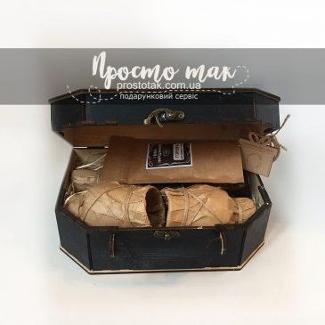 Набір у валізі Mazarine із дерева