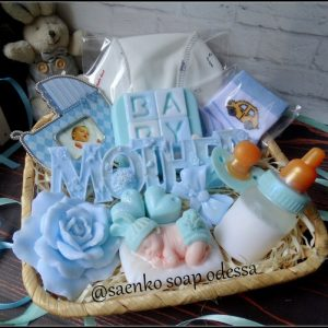 Подарочное мыло набор новорожденного