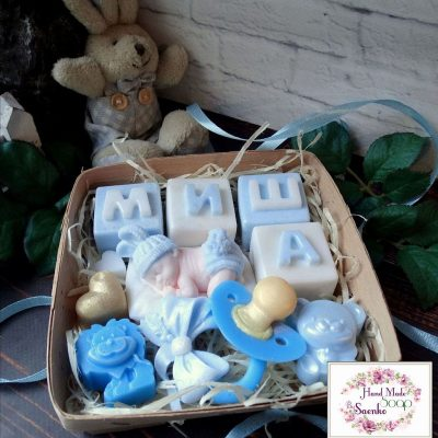 Подарочное мыло «Набор новорожденного»