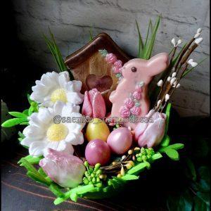 Пасхальный подарочный набор в корзине