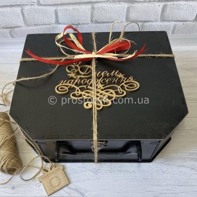 подарочная коробка из дерева купить