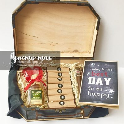 Подарочный набор с мини виски Tullamore DEW