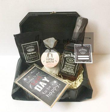 Подарунковий набір з віскі Jack Daniels 0,5l