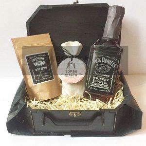 Подарочный набор с виски Jack Daniels