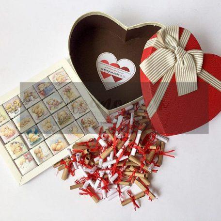 "101 причина любви с шоколадом Тедди - подарок для девушки<h3><a href=""https://prostotak.com.ua/ru/shop/podarunkovi-korobki/dlya-zhenshhin/podruge/podarok-devushke101-prichina-c-shokoladom/"">Заказать</a></h3>"