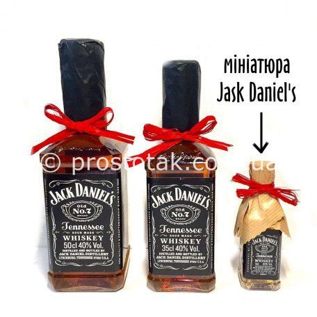 Виски мини бутылочка Jack Daniel's