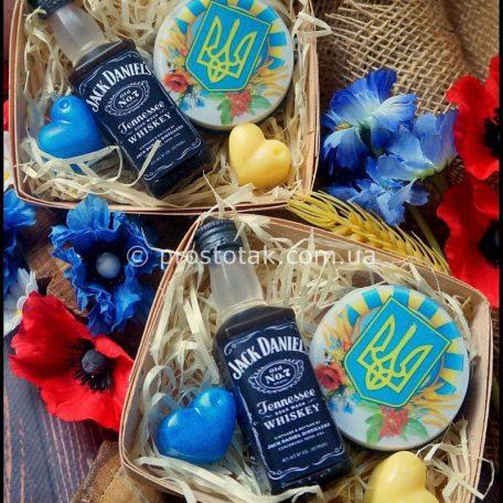 Набор mini Jack Daniel's на День защитника Украины