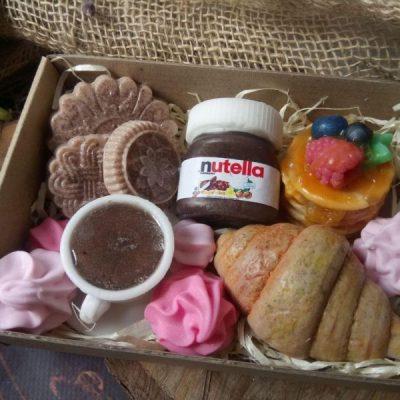 Набор диетических сладостей из мыла