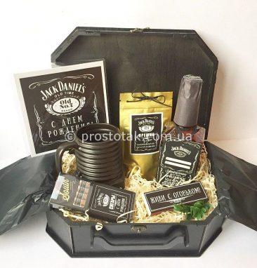 Подарок мужчине с виски Jack Daniels
