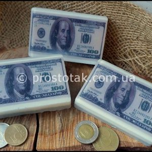 Подарочное мыло ручной работы 100 долларов