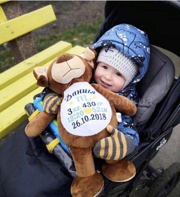 Подарок ребенку именная игрушка