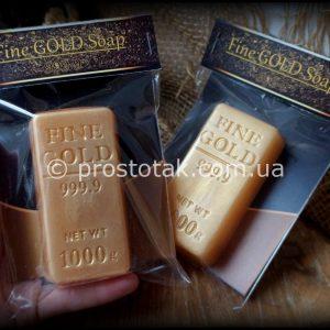 Слиток золота мыло :)