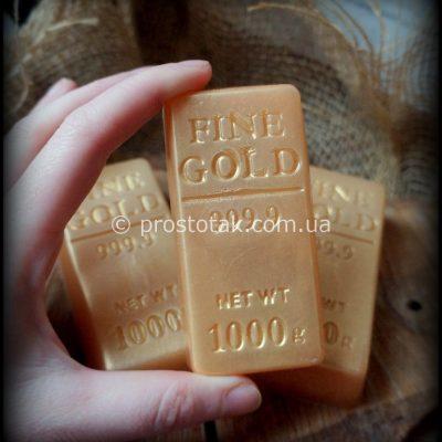 Мыло «Золотой слиток 999,9»