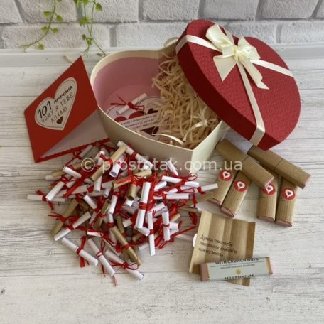 "101 причина з шоколадом ""7 сторін моєї любові""<h3><a href=""https://prostotak.com.ua/uk/shop/dlya-cholovikiv/cholovikovi/101-prichina-z-shokoladom-7-storin-moye%d1%97-lyubovi/"">Замовити</a></h3>"