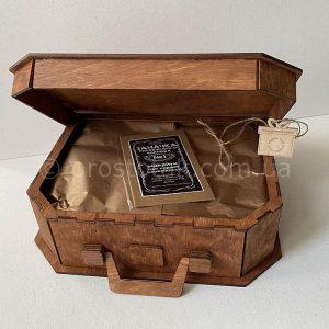 Чемодан коробка из дерева