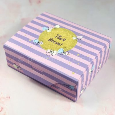 """Подарочный набор в коробке """"Твоя весна"""""""