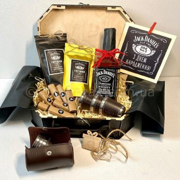 Подарок мужчине на День рождения с виски Jack Daniels