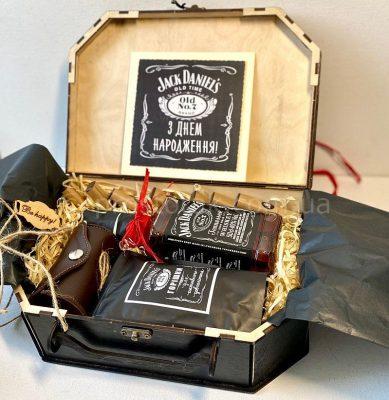 Подарок мужчине виски Jack Daniels