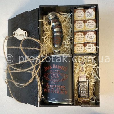 Wooden box с шоколадками благодарности