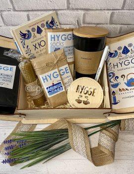 Подарок для женщины набор Hygge box №1