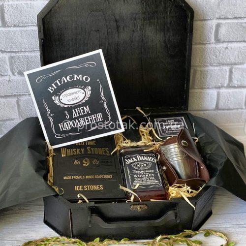 Чемодан Jack Daniel's с камнями для охлаждения виски