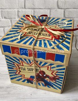 Коробка для подарка #WOWBOX Spider-Man