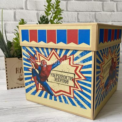 Коробка для подарунка #WOWBOX Spider-Man