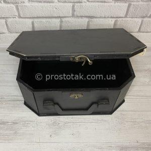 Подарочная коробка 25Х17х10см ( деревянная)