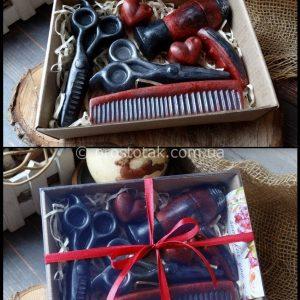 Подарочное мыло. Подарок для стилиста.