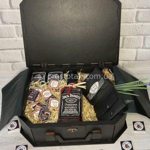 Подарочный бокс «Для чоловіка» с портмоне