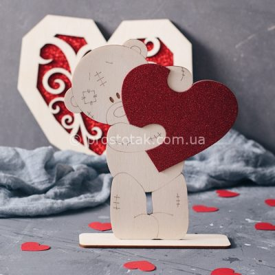 Підставка для прикрас Ведмедик Тедді
