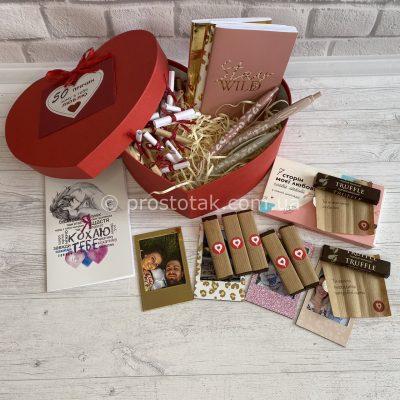 "Подарок в коробке сердце ""Memory heart"""