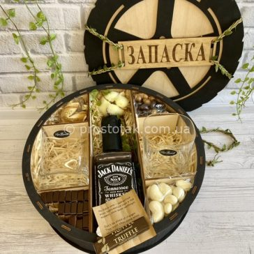 Подарочный набор «Запаска» с виски Jack Daniel's