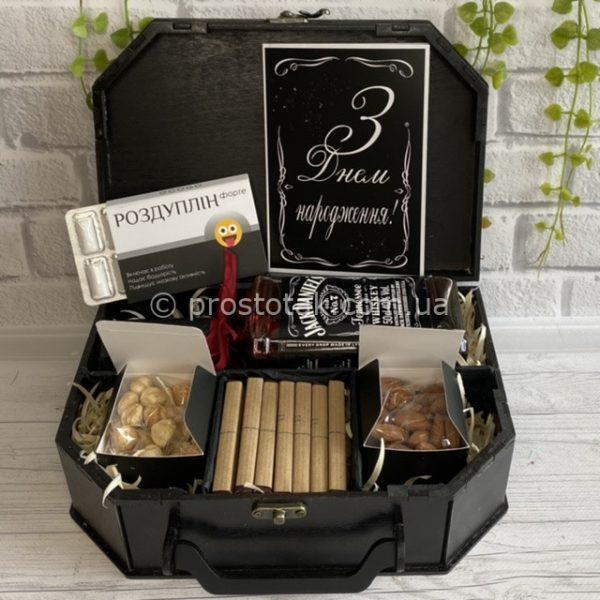 Подарочный набор с алкоголем виски Jack DANIEL'S