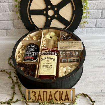 """Набір """"Запаска W3"""" Jack Daniel's з камінням для віскі і маскою"""