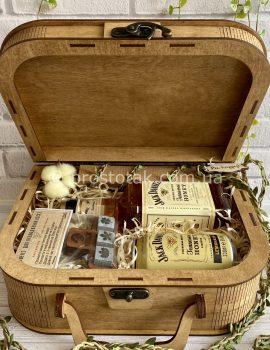 Подарок для мужчины с медовыми виски Honey виски Jack Daniel's