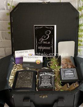 VIP подарок для мужчины на день рождения с алкоголем