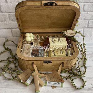 Подарунок для чоловіка з медовими віскі «Honey aroma» -Vip.2