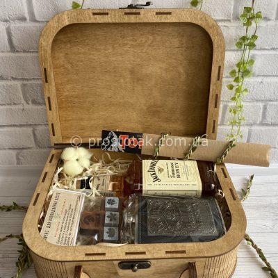 """Подарунок для чоловіка з лікером Jack Daniel's """"Honey aroma"""" Vip.4"""