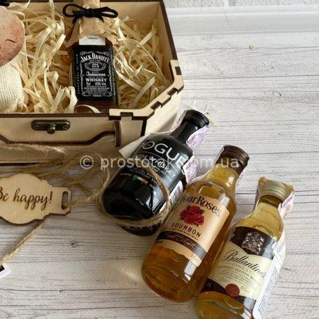 Спиртні мініатюри для подарункових наборів