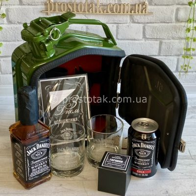 Каністра бар 5л. Jack Daniel's подарунок чоловічий набір на День народження
