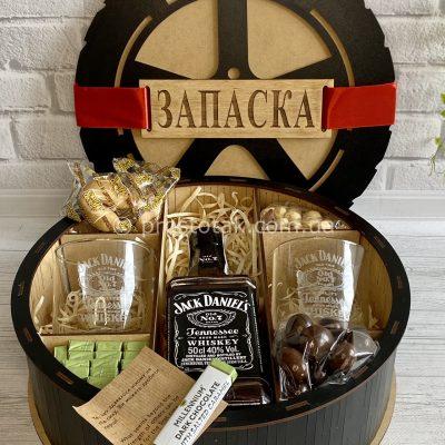 Подарунки чоловікам склянки з гравіюванням Jack Daniel's