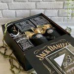 Подарок для мужчины на День рождения c виски Jack Daniel's